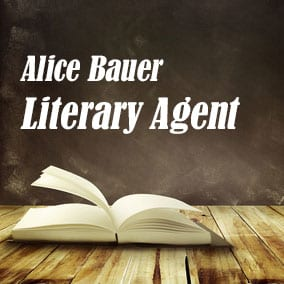 Literary Agent Alice Bauer – James Fitzgerald Agency