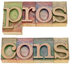 Established literary agents pros and cons