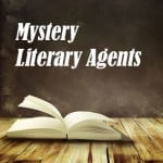Book with Mystery Literary Agents
