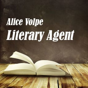 Profile of Alice Volpe Book Agent - Literary Agent