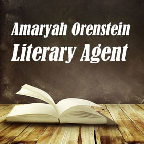 Profile of Amaryah Orenstein Book Agent - Literary Agents
