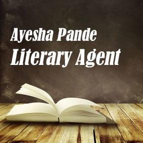 Literary Agent Ayesha Pande – Ayesha Pande Literary