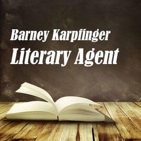 Literary Agent Barney Karpfinger – Karpfinger Agency