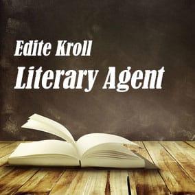 Literary Agent Edite Kroll – Edite Kroll Literary Agency
