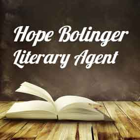 Profile of Hope Bolinger Book Agent - Literary Agent