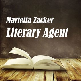 Profile of Marietta Zacker Book Agent - Literary Agent