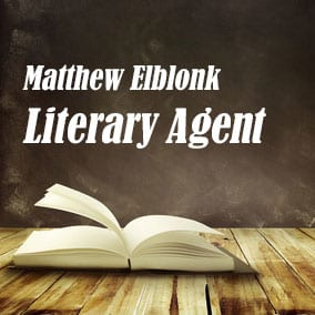 Profile of Matthew Elblonk Book Agent - Literary Agent