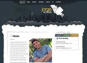Author Website Design - Jorge Avellan