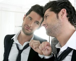 Literary Agents Blog - Author Looking in Mirror