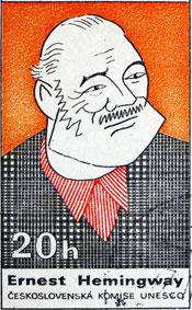 Old school book agent Hemingway